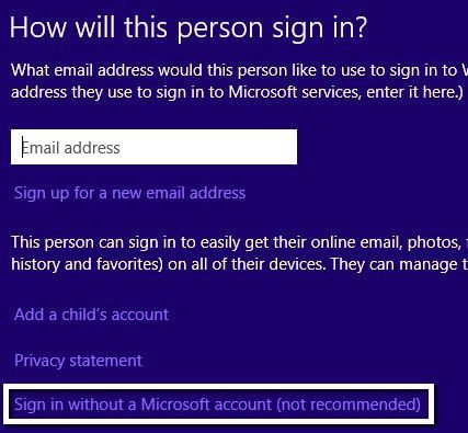 inicie sesión con Microsoft